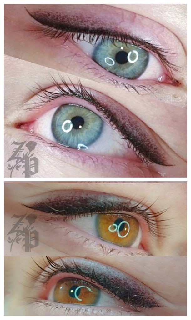 Soft eyeliner with shadow